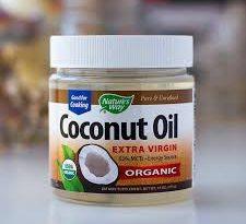 كريم coconut oil للشعر
