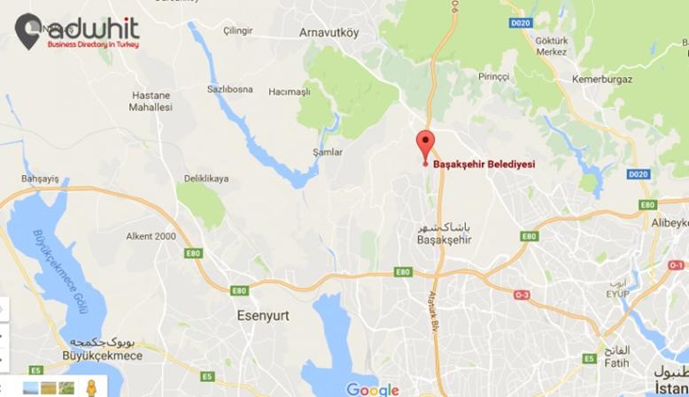 خريطة منطقة باشاك شهير