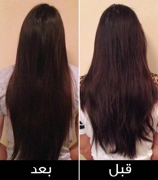 زيت جوز الهند لتطويل الشعر في اسبوع