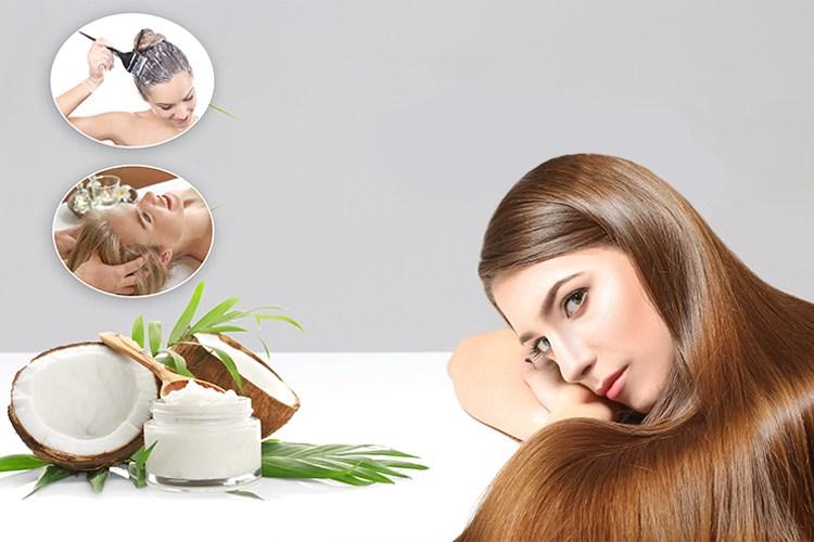 زيت جوز الهند لتكثيف الشعر مجرب