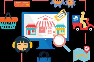إنشاء موقع تسوق الكتروني