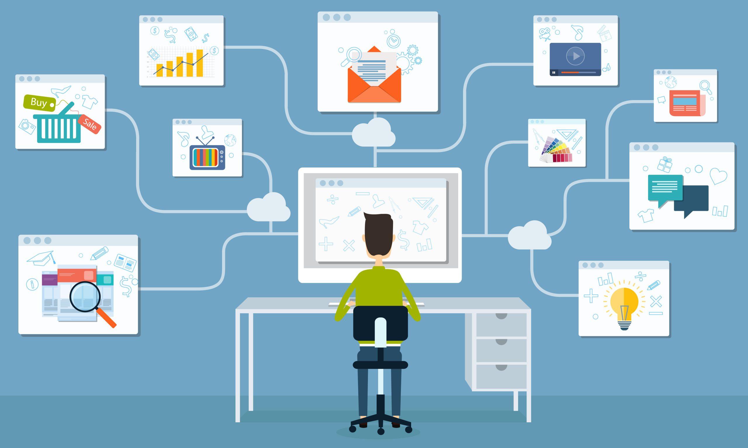 دور التسويق الالكتروني في زيادة المبيعات