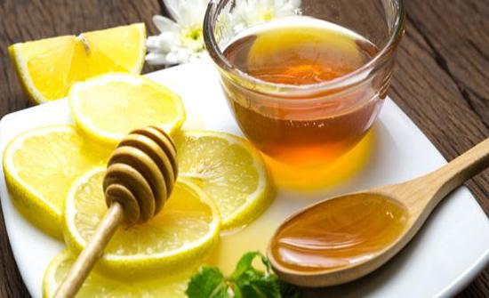 العسل الابيض و السخونة