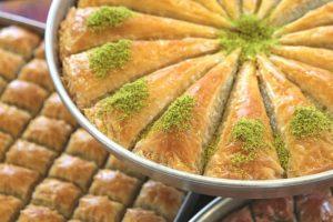 كيف اطلب حلويات من تركيا