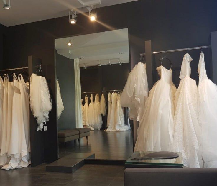 محلات فساتين زفاف اسطنبول