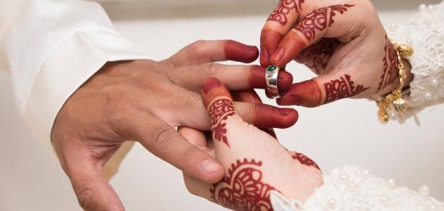 مشهد زواج