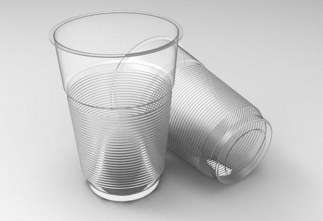 أكواب بلاستيك شفافة بالجمله
