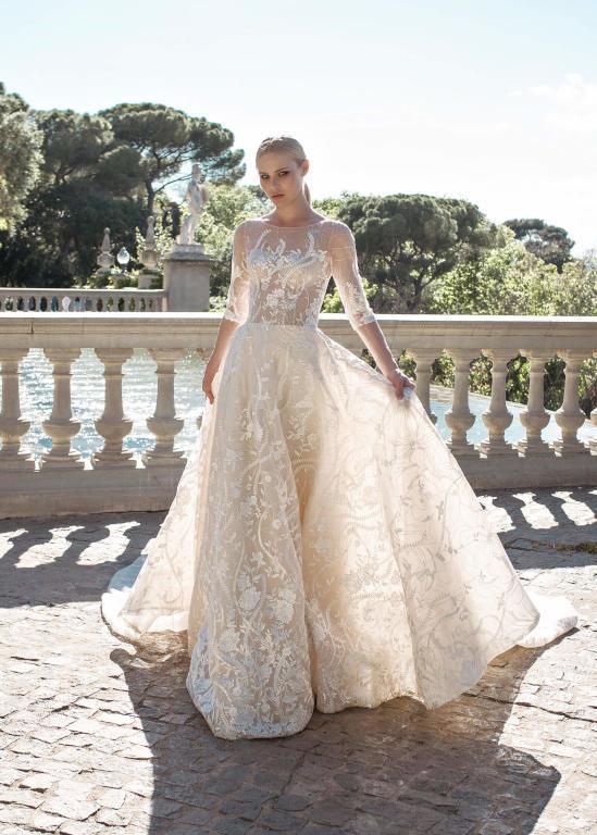 اسعار فساتين الزفاف في تركيا 2020