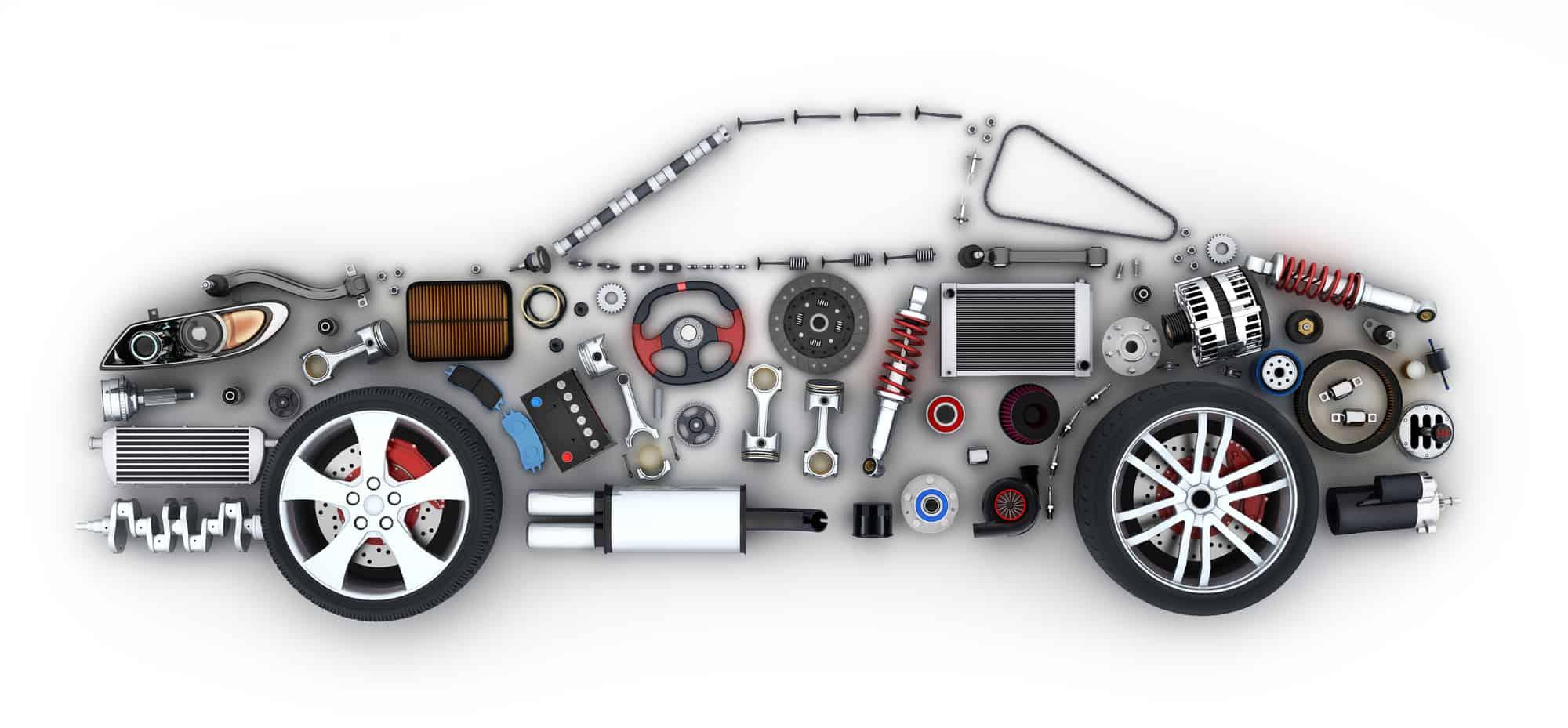 دراسة جدوى استيراد قطع غيار سيارات