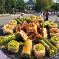 أنواع الحلويات التركية