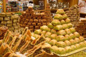 طلب حلويات من تركيا