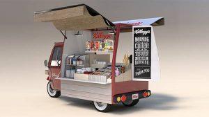 مشروع عربة طعام