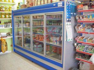 ثلاجات سوبر ماركت في تركيا