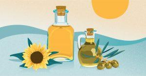 طرق حفظ زيت الزيتون