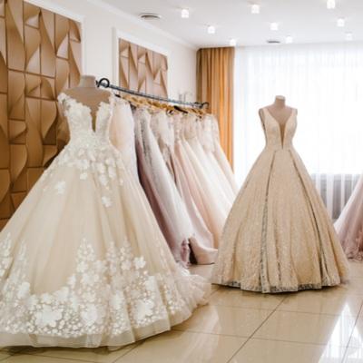 مشروع بيع فساتين زفاف