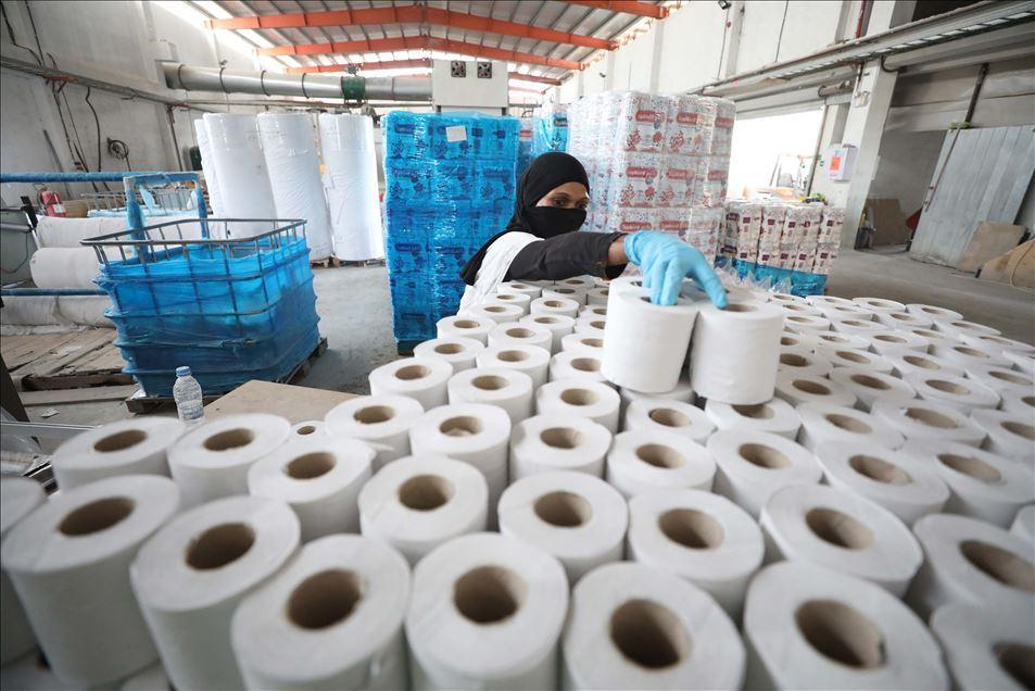 مصانع مناديل ورقية في تركيا